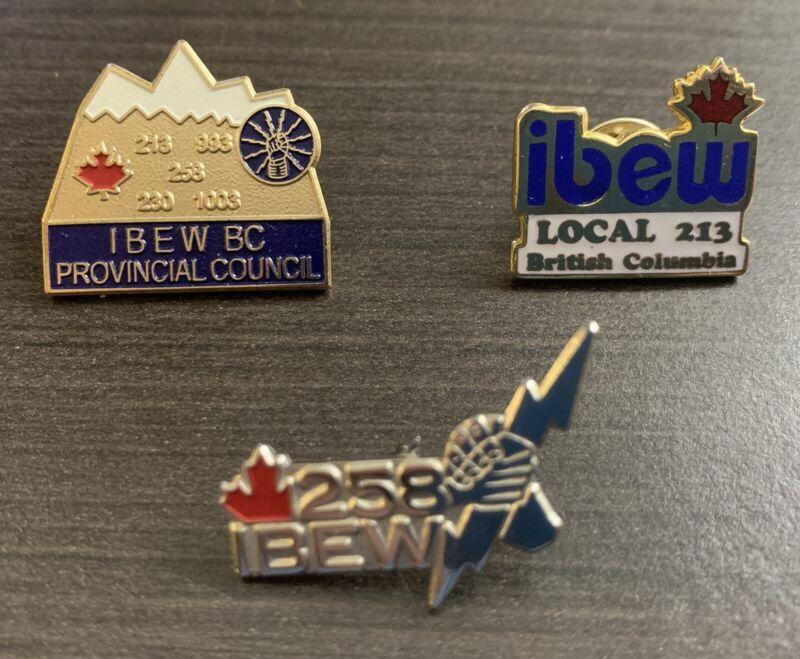 IBEW BC pins