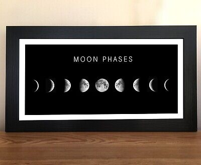 Poster Phases Of The Moon 32x44cm