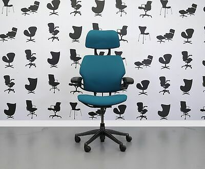 Refurbished Humanscale Freedom High Back Task Chair - Montserrat - YP011