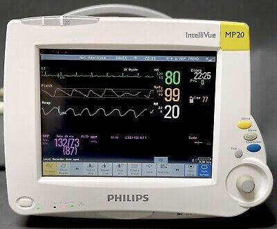 Philips Intellivue Mp20 Patient Monitor De7