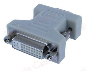 DVI-I Female Analog (24+5) to VGA Male (15-pin) Connector Adapter(ADVII2-H151)
