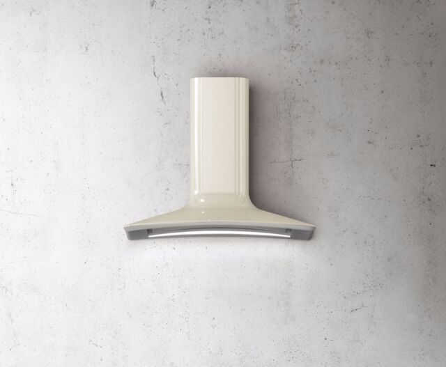 Elica Dolce Wall Mounted Hood Ivory 85cm PRF0043033