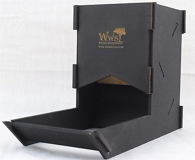 Dice Tower by WWS in Black