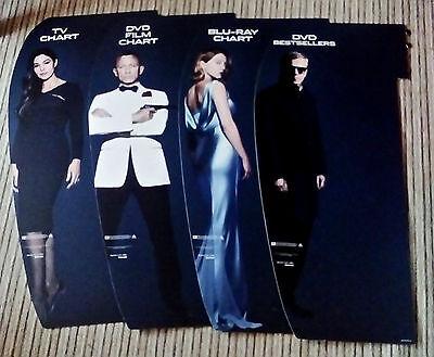 OFFICIAL 007 James Bond Girls SPECTRE Craig Monica Bellucci Blofeld 4 UK Banners