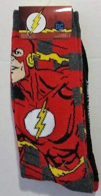 DC COMICS THE FLASH Men's 2 pairs crew socks