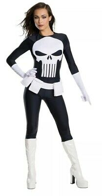 Rubie's Women's XS/0-2 Marvel Adult Lady Female Sexy Punisher Cosplay - Lady Marvel Kostüm