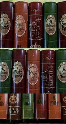 GEMMY HALLOWEEN HAUNTED HOUSE ANIMATED BOOKS SOUNDS, MOTION SENSOR,MOVING BOOKS