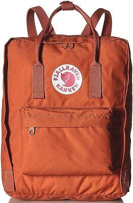 NEW FJALLRAVEN Kanken Backpack Classic School bag 23510 in Brick 164