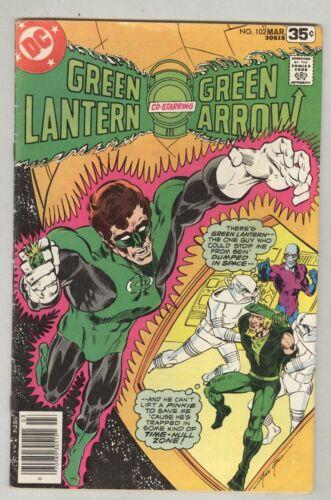 Green Lantern #102 March 1978 VG-