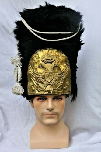 Czar Russian Prussian French Grenadier Cap Hat Napoleonic Imperial Guard Shako
