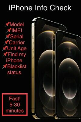 Pro Iphone Info Check Fast Imeimodelcarrierfind My Iphoneblacklist Status