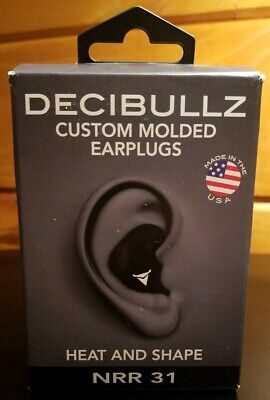 X1 Decibullz Custom Molded Earplugs Nrr 31 Sealed