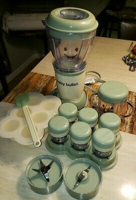 Baby Bullet - Baby Food Maker 20 Piece Set Baby Care System Processor Storage