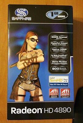 Sapphire Technology ATI Radeon HD 4890 (100269VXLE) 1 GB GDDR5 SDRAM PCI Expres…