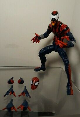 Marvel Legends Ben Reilly Spider-Man Spider Carnage Absobing Man Wave Hasbro