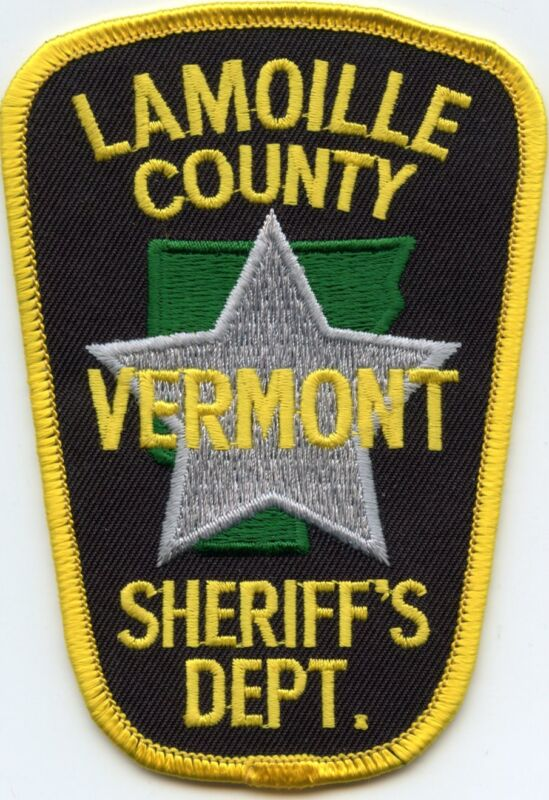 LAMOILLE COUNTY VERMONT VT SHERIFF POLICE PATCH