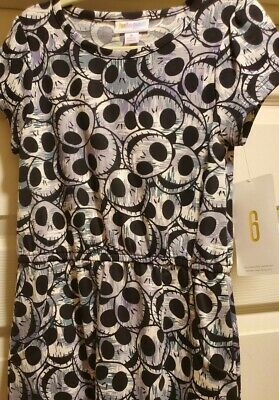 Jack From The Nightmare Before Christmas (Lularoe Disney Mae Size 6: Jack Skellington from The Nightmare Before)