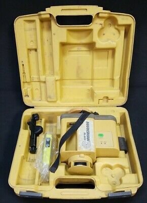 Topcon Rl-50b Rotary Laser Level With Receiver Clamp - 82