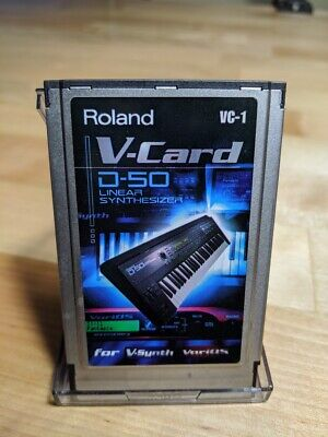 Roland VC-1 V-card D-50 Linear Synthesizer board V-Synth