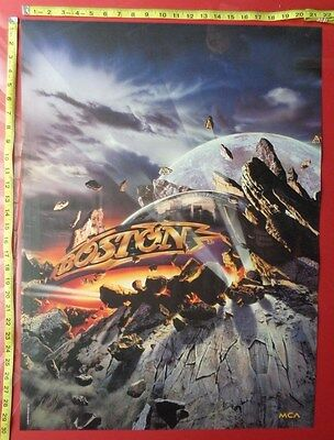 """BOSTON Poster,22x30"""",Very RARE Original,Record Company promo"""
