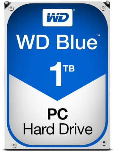Wd 1tb Blue 64 Mb 3.5in Sata 6 Gbs Hard Drive 7200 Rpm Data Lifeguard Wd10ezex