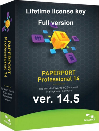 Nuance PaperPort Professional 14.5 | Official Key | Lifetime | Fast