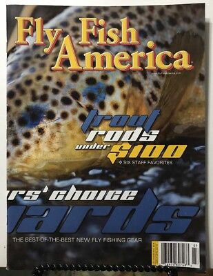 Fly Fish America Trout Rods Best New Gear July/August 2015 FREE SHIPPING (Best Fly Fishing Gears)