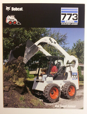 Bobcat 773 G-series Skid-steer Loader Dealership Sales Folder - Must See