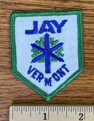 Vintage Ski Patch ~ Jay Peak Vermont