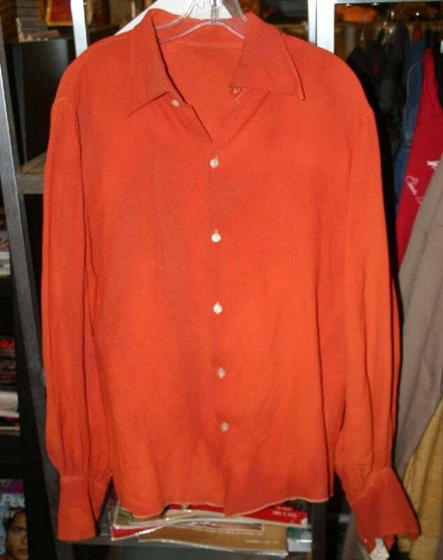 INIA TE WIATA SHIRT WORN IN UNKNOWN PRODUCTION MADE BY WESTERN COSTUME COMPANY