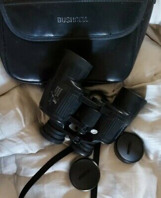BUSHNELL 8 X 42 BINOCULARS NATIONAL AUDUBON SOCIETY WITH CASE