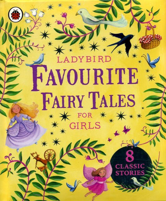 8 Favourite Stories for GIRLS / Englische Märchen / Englische Kinderbücher