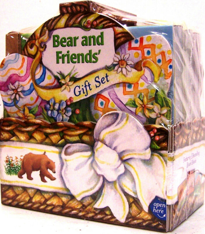 BEAR & FRIENDS GIFT SET  Bear Snores On,New Friend,Wants More Karma Wilson 3BBs