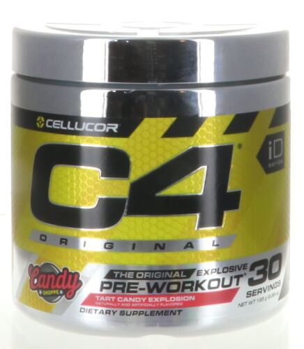 Cellucor C4 Original Explosive Pre-workout Tart Candy Explosion (30 Servings)