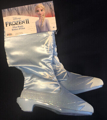 Girls Disney Frozen 2 Elsa Dress Up Boots, Brand New Size: One Size Fits Most