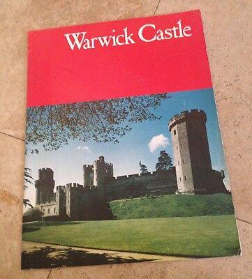 Warwick Castle pamphlet Vintage