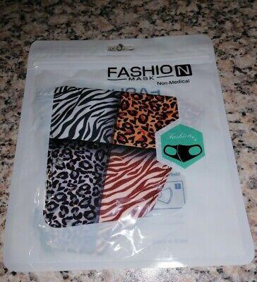 Mund-nasen-schutz Masken mundschutz maske neu Afrika Leo Zebra look