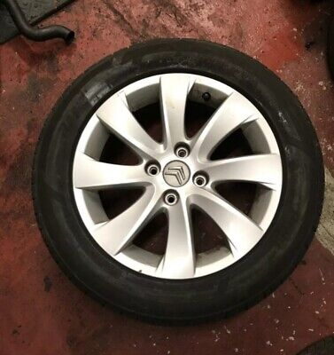 Citroen C4 Grand Picasso Alloy Wheels And Tyres Set Of x4 16 Inch