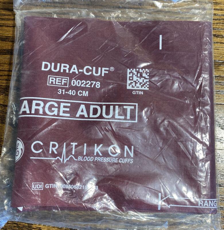 Critikon Large Adult BP Blood Pressure Dura-Cuf 2278 31-40 cm