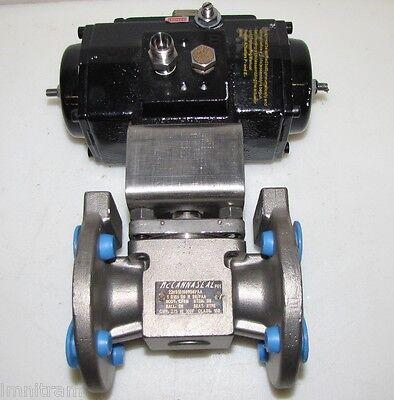 1 Stainless Mccanna Valve Matryx Xomox Actuator Pneumatic Esa 40-6a22