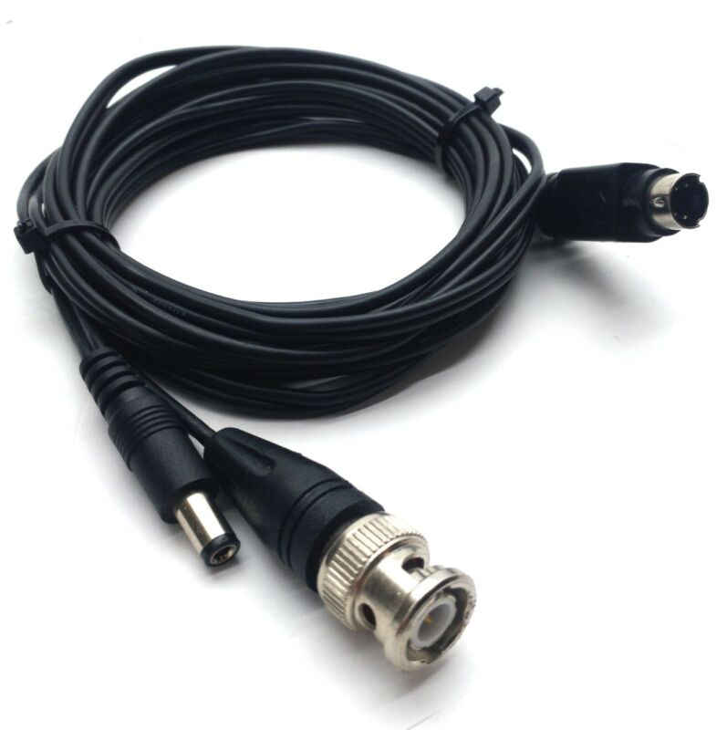 Synrad Universal Laser Controller Cable Mini DIN 4-Pin DC Plug BNC For UC-2000