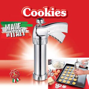 2X-IMPERIA-COOKIES-pistola-spara-biscotti-completa-alluminio-sparabiscotti-2PZZI
