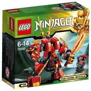 LEGO Ninjago *Kai's Fire Mech* #70500 BNIB 2012 Release Rare Collector's Item!