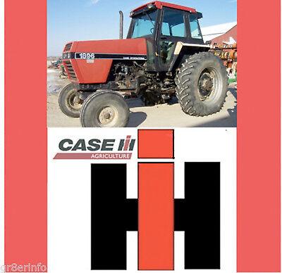 Case International Repair Manual - CASE IH INTERNATIONAL 1896 2096 Tractor Shop Repair SERVICE MANUAL SEARCHABLE CD