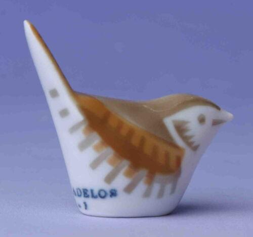 Sargadelos Porcelain Wren Bird - NEW