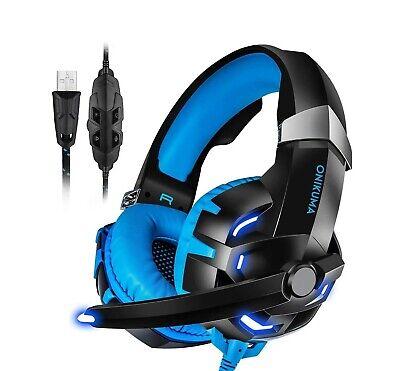 K2 Pro Gaming Headset High Performance Blue