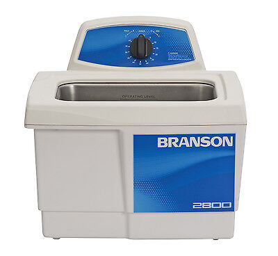 Ultrasonic Cleaner Branson M2800 Mechanical Timer 60 Min .75 Gal Cpx-952-216