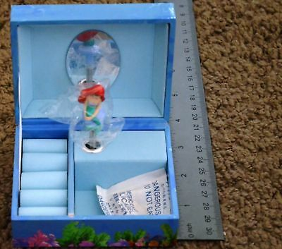 Little Mermaid Girl Little Jewelry Box Brand new Walt Disney NIP - Little Girls Jewelry Boxes