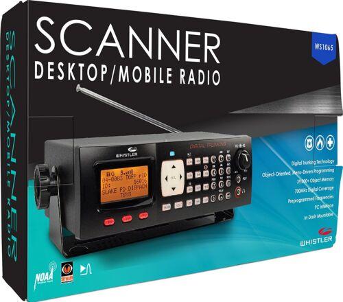 Whistler WS1065 Digital Base Desktop Mobile Scanner UHF/VHF