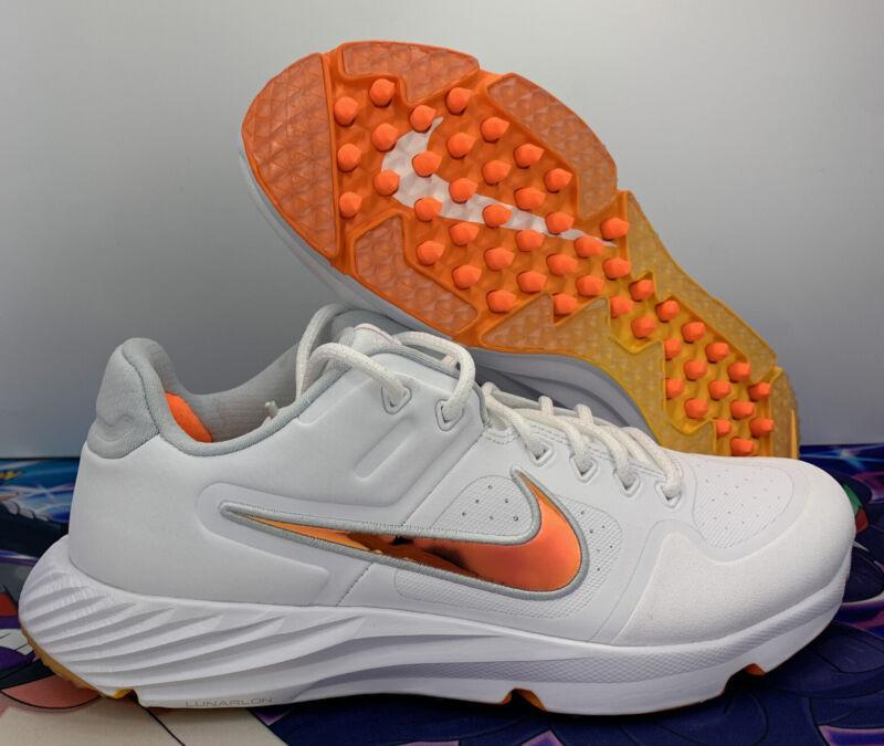 Nike Womens Alpha Huarache Elite 2 Turf Trainers Softball Shoes Sz 9.5CJ9988-102